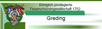 Königlich privilegierte Feuerschützengesellschaft 1752 Greding